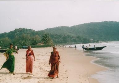 hinduski na plazy