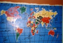 mapa swiata w szkole
