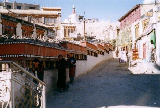 mlynki modlitewne - ulica