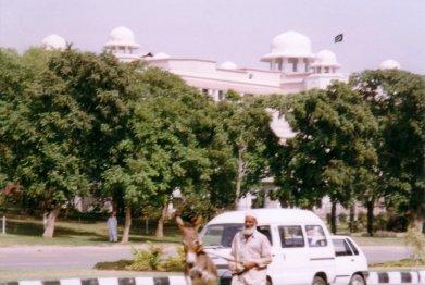 palac premiera i chlpo z oslem