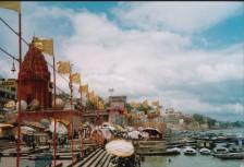 panorama - swietych schdow i Ganges