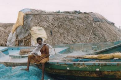 rybak i jego chata, sieci