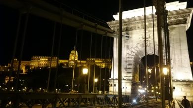 Zamek królewski widziany z Most Łańcuchowego